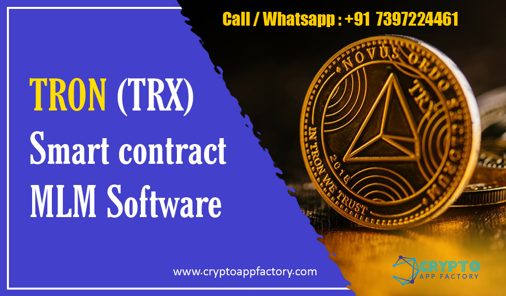 tron smart contract mlm software development